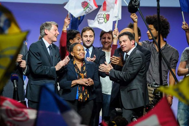 Regardez ces socialistes sur scène, on les croirait sorti du cerveau d
